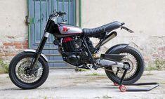Yamaha TT 600 Scrambler Dark Garage 38'