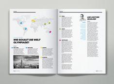 Magazine Infographics by Martin Oberhäuser, via Behance