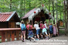 landeiundco.de Der Märchenwald in Schongau ist für Familien mit Kindern immer wieder einen Ausflug wert! Blogbericht von Landei & Co über die Attraktionen im Park! Familienausflug, Ausflugsziele, Oberbayern, Freizeitpark