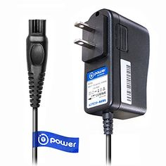T-Power Ac Dc Adpater Rapid Charger ((5 ft Long Cable)) for Philips Norelco Precision, Bodygroom, Arcitec, Spectra, SensoTouch Electric Shaver Razor HQ8505/8500X SmartTouch-XL Speed-XL HQ Series. For product & price info go to:  https://beautyworld.today/products/t-power-ac-dc-adpater-rapid-charger-5-ft-long-cable-for-philips-norelco-precision-bodygroom-arcitec-spectra-sensotouch-electric-shaver-razor-hq85058500x-smarttouch-xl-speed-xl-hq-series/