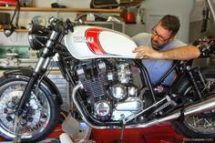 Yamaha XJ 900 CR  by Hageman Motorcycle