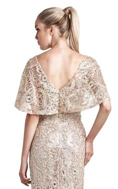 NewYorkDress carries beautiful dresses from top designers for weddings, prom, evening events and more. Shop our wide selection of gorgeous gowns today! Simple Dresses, Elegant Dresses, Dresses With Sleeves, Chiffon Dress, Lace Dress, Dress Pesta, Kebaya, Lace Tops, Beautiful Gowns