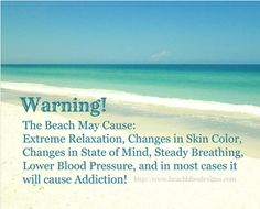 The Beach may cause...