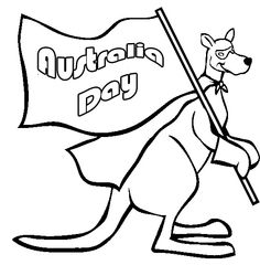 Download Australia Day Colouring Pages Images Wallpapers Pictures