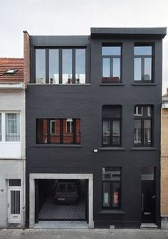 #black #facade