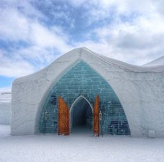 It's breathtaking. What's It Like To Sleep At An Ice Hotel? via Child Mode