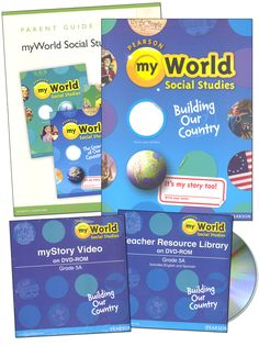 myWorld Social Studies Homeschool Pk Grade 5A | Main photo (Cover)