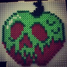 Apple Snow White hama beads by queengref