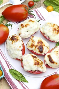 Tomato Tuna Melts -- a super-speedy meal and the larger serving packs 25 grams of protein with just 10 grams of carbohydrates and 289 calories!