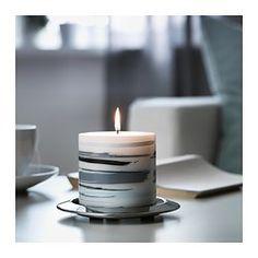 JÄBBIG Unscented block candle - IKEA