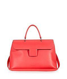 Weil Jil Sander einfach weiß, wie eine edle Lady-Bag auszusehen hat!