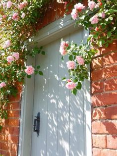 Oh for roses around my front door