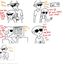 ftm Dave Strider from Homestuck this is so sweet :3