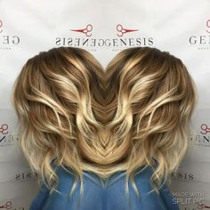 Chloe darkened Megan's roots, added some babylights, and toned down her blonde so she wasn't so bright.  Start going darker for fall here at Genesis! Reserve today at (832) 340-7625 or visit http://genesisboutiqueandsalon.com.