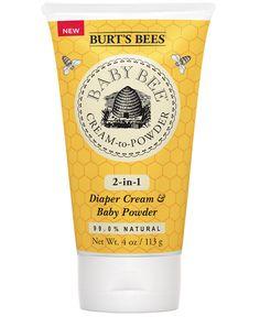 Burt's Bees Baby Bee® Cream To Powder, 4 oz - Burt's Bees Baby - Beauty - Macy's