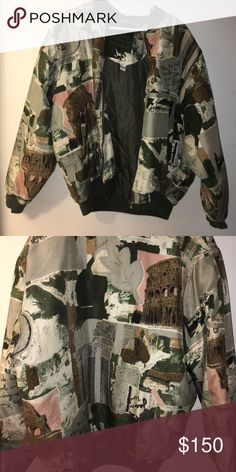 RARE vintage bomber jacket You won't find this anywhere this is extremely rare and dope and I paid $800 for it. Selling this for an awesome price! In perfect condition 😊 Jackets & Coats