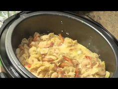 ▶ 7 Minute Shrimp Alfredo Under Pressure - YouTube