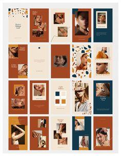 Page Layout Design, Magazine Layout Design, Web Design, Instagram Grid, Instagram Design, Instagram Banner, Graphic Design Posters, Graphic Design Inspiration, Magazine Design Inspiration