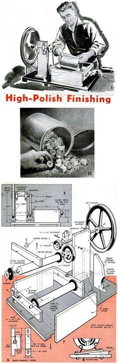 DIY Parts Tumbler - Finishing Tips and Techniques | WoodArchivist.com