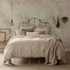 Wamsutta Vintage Linen Duvet Cover, Linen Full/queen