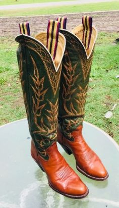 Custom-Made Blucher Boots Cowboy Gear, Cowgirl Hats, Cowboy Western, Western Style, Western Boots, Custom Cowboy Boots, Custom Boots, Buckaroo Boots, Cool Boots