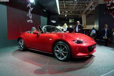 2014 году парижский автосалон: Mazda MX-5 Miata мировой дебют