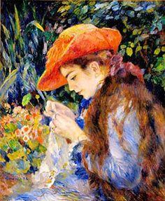 Pierre-Auguste Renoir, Sulla terrazza, 1881. Olio su tela, 100×80 cm ...