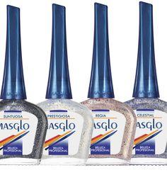 Coleccion Sideral #SideralMAsglo #Masglolovers Nail Nail, Glaze, Nail Designs, Shades, Drink, Food, Toenails Painted, Nail Art Tutorials, Nail Spa