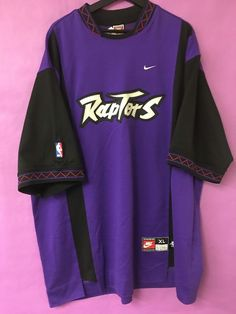 Nike Team Sports Nba Toronto Raptors Wam Up Jersey    eBay