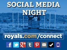 Social Media Night with the @Royals - A recap of the KC Royals' first #SocialMediaNight and some ideas on how to make the next event more socially savvy