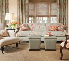 Paradise Fabric Collection - traditional - living room - Calico Corners   Calico Home