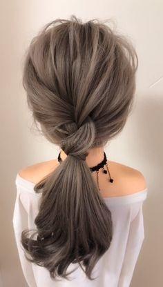 Braided Hairstyles Tutorial - Step By Step Guidelines - Easy Hairstyles Hair Tutorials For Medium Hair, Medium Hair Styles, Curly Hair Styles, Braided Hair Tutorials, Hair Upstyles, Box Braids Hairstyles, Easy Hairstyles Medium Hair, Ladies Hairstyles, Hair Videos