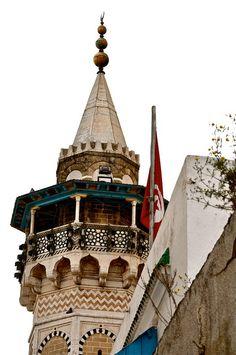 Minaret ~ Tunis, Tunisia