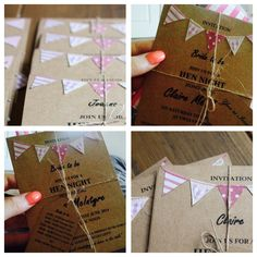 Hen Party Vintage Invites crafted by the talented 'boymeetsgirl50' on Etsy! #claireshen #1950s #vintagehen