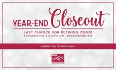 Year-End Closeout Sa