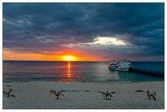 puesta del sol, Maria la gorda, Cuba