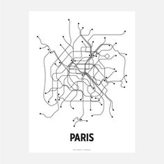 Paris Lithograph B&W, $20, now featured on Fab.