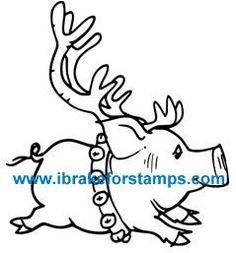 Pig-Deer (digital image)