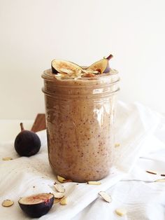 Honey Almond Fig Smoothie