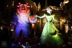Disney Topiaries Visite Epcot Festival international des fleurs et jardin