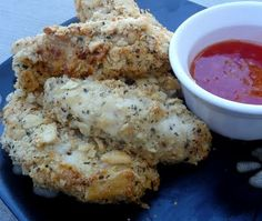 "Ritz Parmesan Chicken Tenders.  These were SO good--my husband said to ""add these to the short list""!"