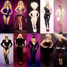 Lady Gaga Wax Figures