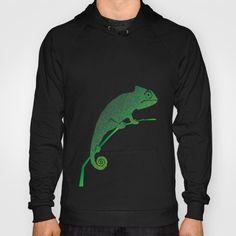 Colorful language of chameleons Hoody