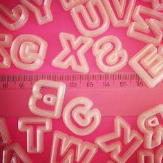 Alfabeto 1,7 cm