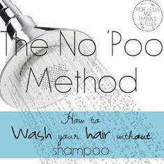 No Poo Method. #intrigued