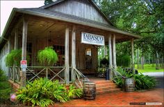 the Tabasco Country Store in New Iberia, Louisiana - photo by Clayton Perry