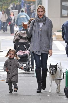 Kelly & Daughter & Pup