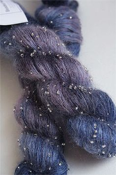 Artyarns Beaded Silk Mohair in H21 Silver                                                                                                                                                                                 More