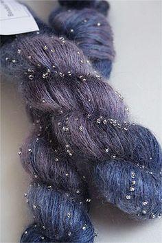 Beaded Silk Mohair