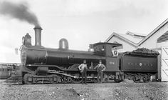 Midland Railway Company steam locomotive made in England and imported to Australia.  In 1894, after eight years of construction, the Midland Railway was completed in Western Australia. It spanned 446 kilometres from Midland Junction in Perth to Walkaway near Geraldton.